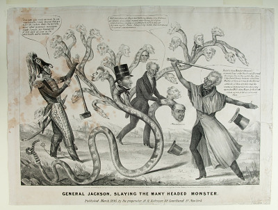 General Jackson, Slaying the Many Headed Monster
