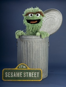 images for Oscar the Grouch Puppet-thumbnail 3