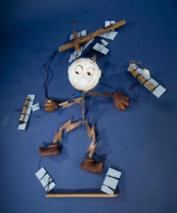 Reddy Kilowatt Marionette