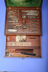 Magazine Case of Drawing Instruments