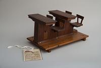 James S. Rankin's 1879 School Desk and Seat Patent Model