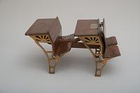 James Smith's 1871 School Desks and Seats Patent Model