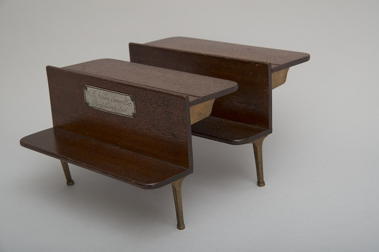 John P. Allen's 1865 School Desk and Seat Patent Model