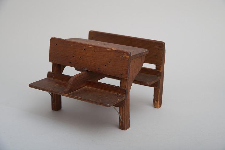 James S. Rankin's 1862 School Desk and Bench Patent Model