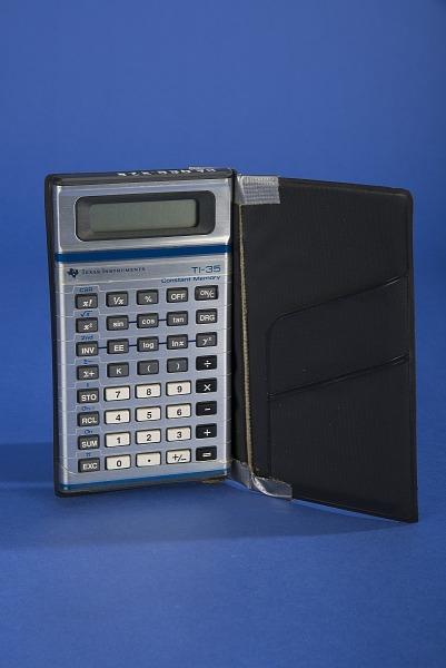 Texas Instruments TI-35 Handheld Electronic Calculator