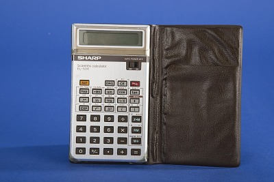 Sharp EL-506 Handheld Electronic Calculator