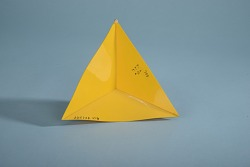 Geometric Model of A. Harry Wheeler, Immersion of a Moebius Band (One-Sided Polyhedron)