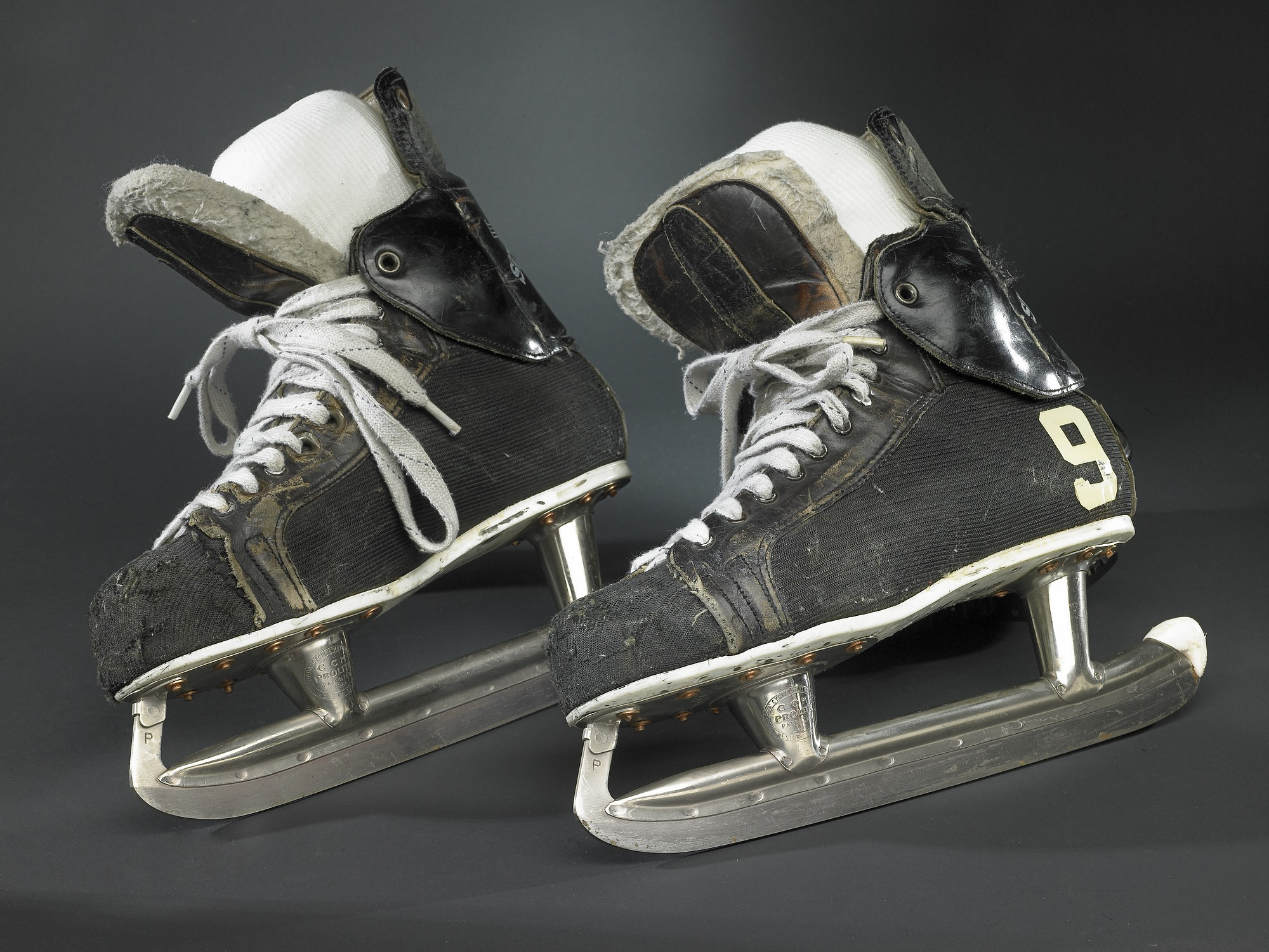 images for Ice Hockey Skates, worn by Gordie Howe