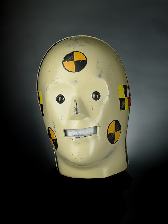 Larry Crash Dummy Costume Head, 1990s
