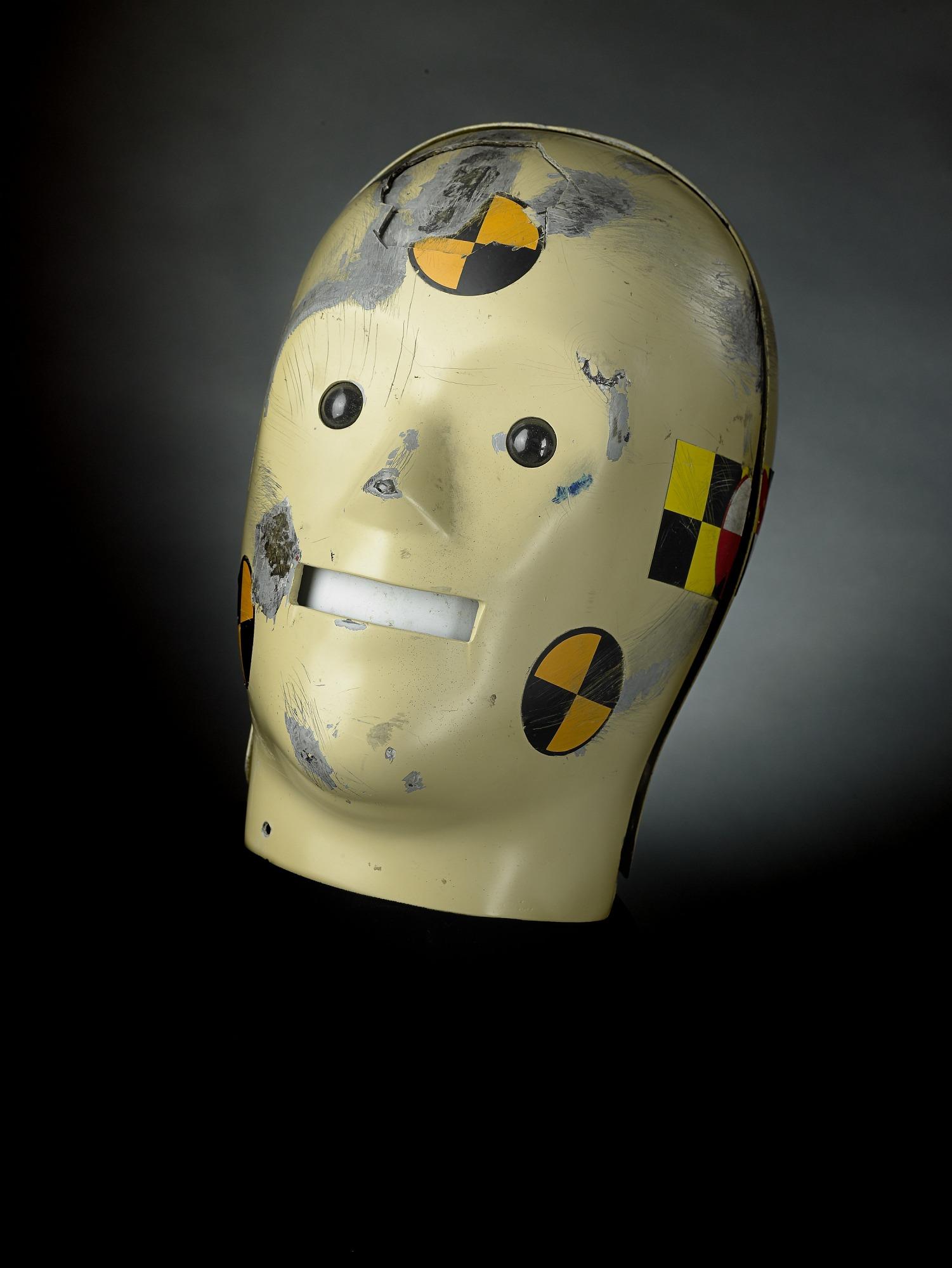 Vince Crash Dummy Costume Head, 1990s