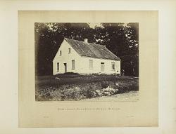 Plate 21. Dunker Church, Battle-Field of Antietam