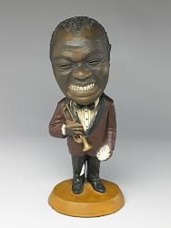 Statue of Louis Armstrong