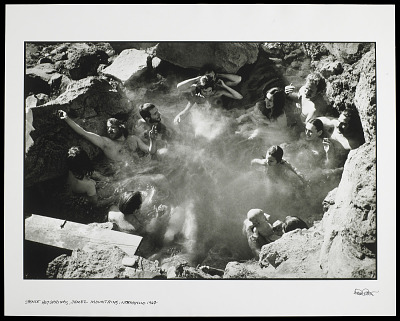 Spence Hot Springs, Jemez Mountains