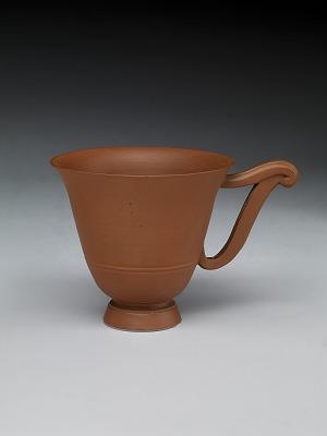Meissen red stoneware cup