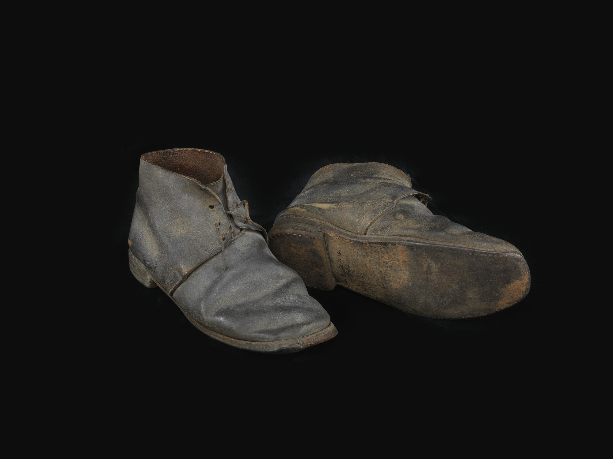 images for Pair of US Army Engineer Corps shoes