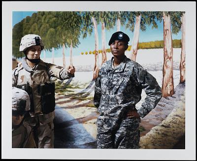 Portrait of Sergeant First Class Keisha Williams, U.S. Army