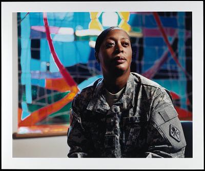 Portrait of Sergeant Major Andrea Farmer, U.S. Army