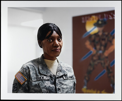 Portrait of Staff Sergeant Debra Fulk, U.S. Army