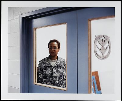 Portrait of Sergeant First Class Gwendolyn-Lorene Lawrence, U.S. Army