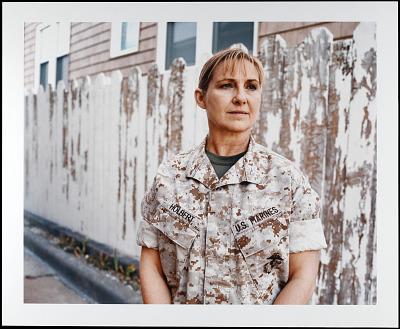 Portrait of Colonel Jenny Holbert, U.S. Marine Corps, Retired