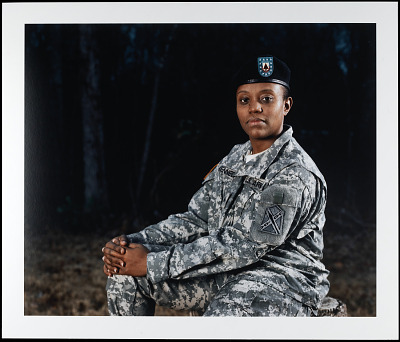Portrait of Sergeant Mikeishia Kennedy, Virginia Army National Guard