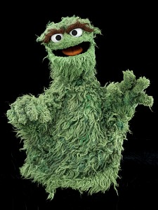 images for Oscar the Grouch Puppet-thumbnail 4