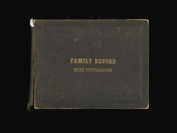 Family Record with Photographs