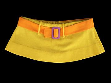 skirt, 2-piece