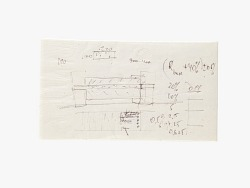 Felix Zandman Resistor Invention Napkin