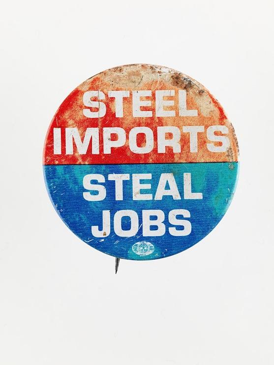Anti-Import Protest Button