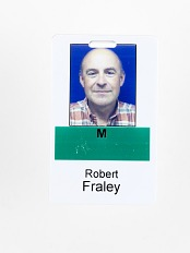 Robert Fraley ID Tag, Monsanto