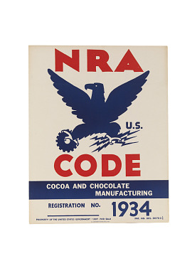 NRA Code Cocoa and Chocolate Manufacturing