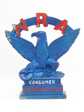 Statuette, NRA Blue Eagle