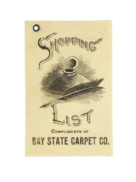 Shopping List,