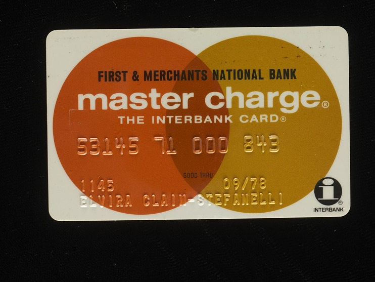 First & Merchants BankMaster Charge Card, United States, 1978