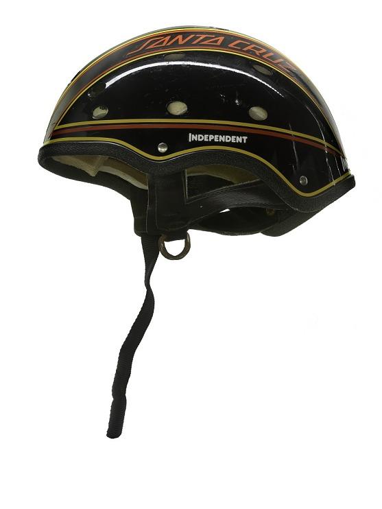 Skateboard helmet worn by Judi Oyama