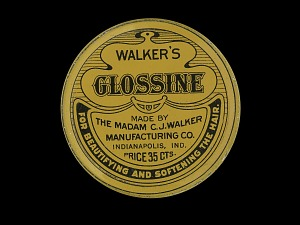 images for Walker's Glossine - for Beautifying and Softening the Hair-thumbnail 1