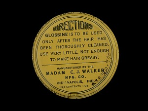images for Walker's Glossine - for Beautifying and Softening the Hair-thumbnail 2