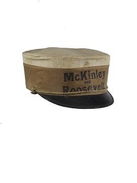 Campaign Cap, 1900