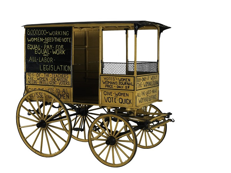 Woman Suffrage Wagon