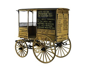 images for Woman Suffrage Wagon-thumbnail 2