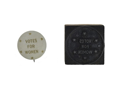 Woman Suffrage Button, 1911