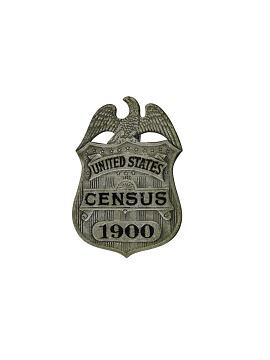 Census Badge, 1900