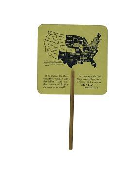Woman Suffrage Fan