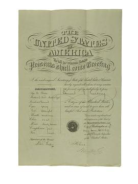 Passport, 1869