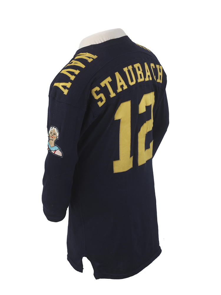 United States Naval Academy Roger Staubach Jersey | National ...