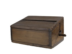 Ballot box, late 19th century
