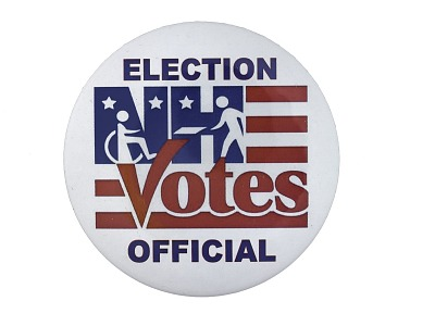 Button, NHE Votes Official, 2008