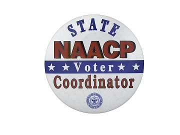 Button, NAACP Voter Coordinator
