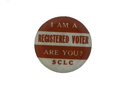 Button, SCLC Voter